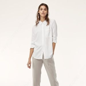 Aritzia Sunday Best Montana white button up